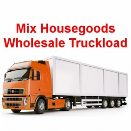 Wholesale Mix Household Goods (Salvage Condition) Truckload for $2000