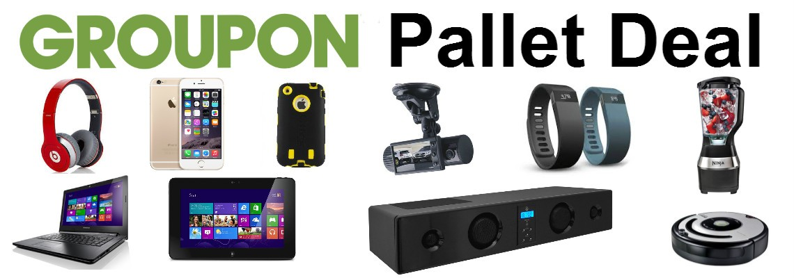 Groupon Pallets! Tablet, Laptop, Camera, Jawbone! Perfect for Online Sellers!