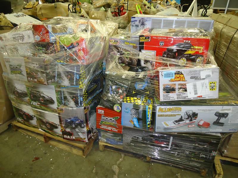 Load Arrive Weekly! W-mart Super Store General Merchandise Pallets