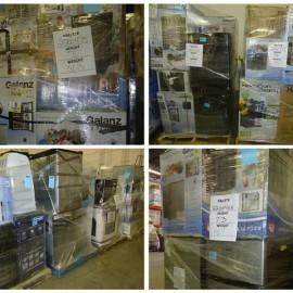 Appliance Pallets! Wine Cooler, Refrigerator, Air Conditioner, Washer & Dryer & More