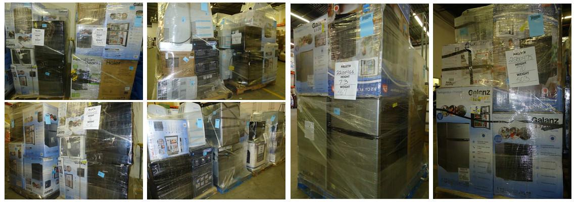 Appliance Pallets! Wine Cooler, Refrigerator, Washer & Dryer & More