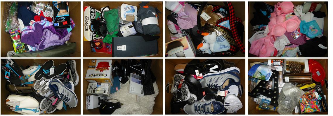 Shelf-pull & Overstock Merchandise By Box! Heavy in Apparel