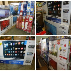 Salvage Condition LCD TVs! Great for eBay Parts Stores!