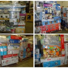 Target Baby, Kitchenware & Homegoods! $450-$600 Pallets!