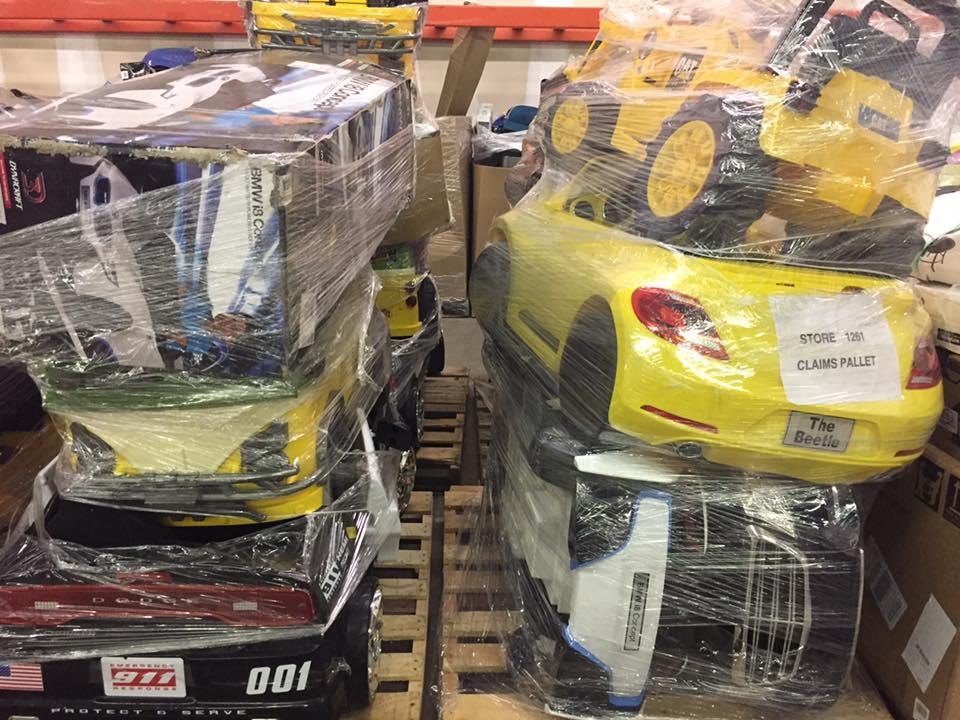 Peg Perego Ride On Toys >> Liquidation Wholesale Power Wheels Truckload. SC, IN, AR ...