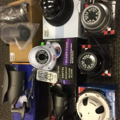 Security Cameras Wholesale Lot