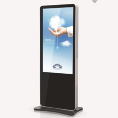 43 Inch Ultra-Slim Touch Screen LED Kiosk Advertising Player Signage